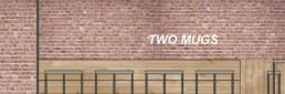 Two Mugs Kitchen & Cafe - Brick Wall